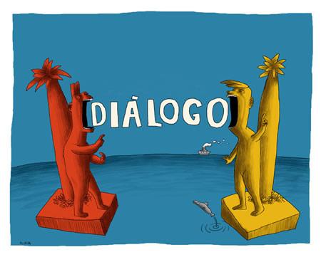 Resultado de imagem para diálogo