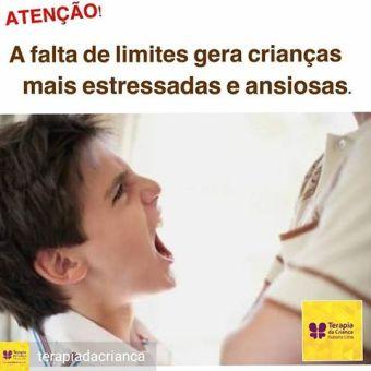 Resultado de imagem para a falta de limites gera crianças mais estressadas